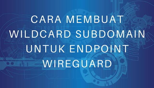 Cara Membuat Wildcard Subdomain untuk Endpoint Wireguard