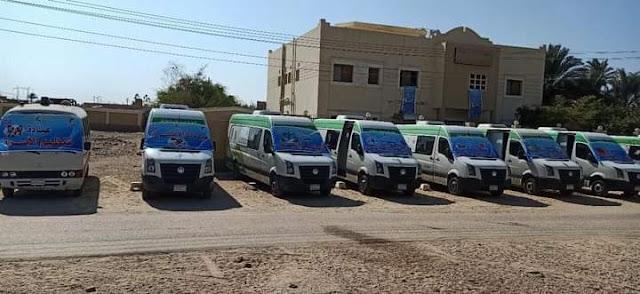صحة المنيا تنظم قافلة طبية بقرية أولاد الشيخ بمركز مغاغة