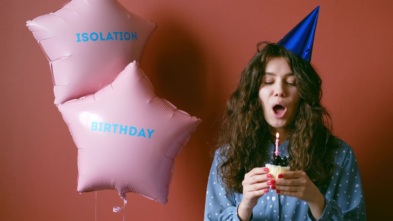 Download Copyright Free Images of Quarantine Birthday