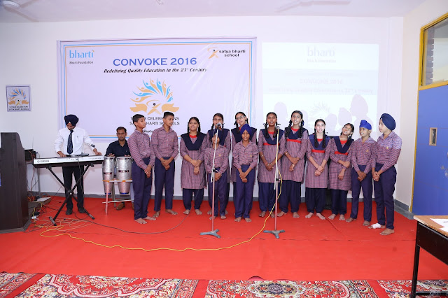Students performing during Convoke 2016