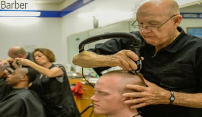 barber, barber occupation