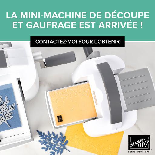 Mini machine de gaufrage