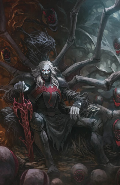 Knull villano de Marvel, dios de los simbiontes