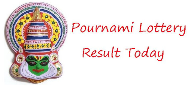 Pournami Lottery Result Today