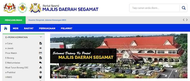 Rasmi - Jawatan Kosong (MDS) Majlis Daerah Segamat 2019