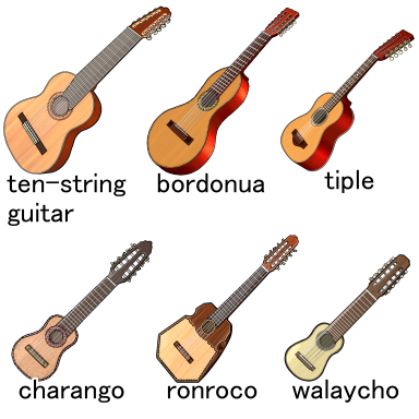 ten-string musical instruments
