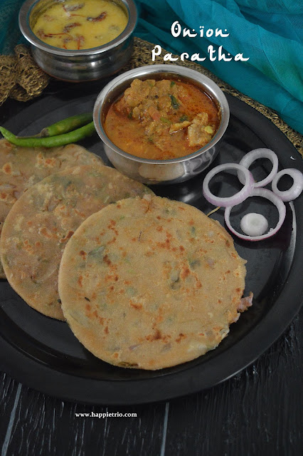 Onion Paratha Recipe | Pyaz ka Paratha | How to make Onion Paratha