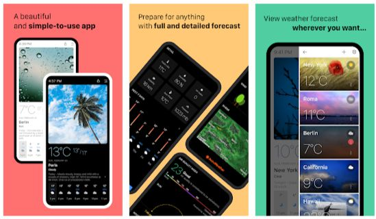 Today Weather Mod Apk