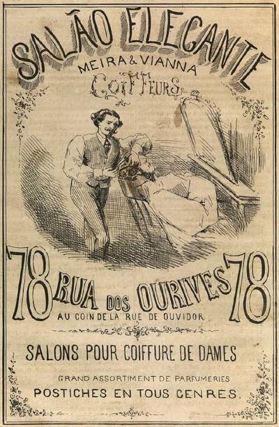 Propaganda antiga de 1867 promovia são de beleza em São Paulo