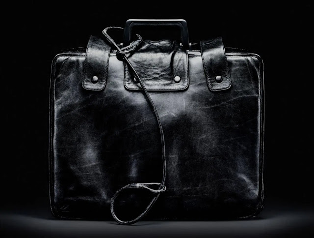 """A """"retired"""" nuclear suitcase on display at the Museum of American History. Photo: Guardian"""