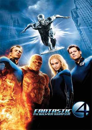 Fantastic Four: Rise of The Silver Surfer 2007 BRRip 720p Dual Audio In Hindi English