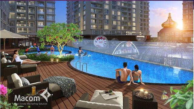 Góc nhìn chung cư Hinode City Minh Khai