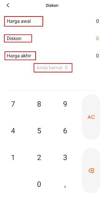 Cara Menghitung Diskon Dengan Kalkulator HP dengan Mudah, Pebisnis Wajib Tahu