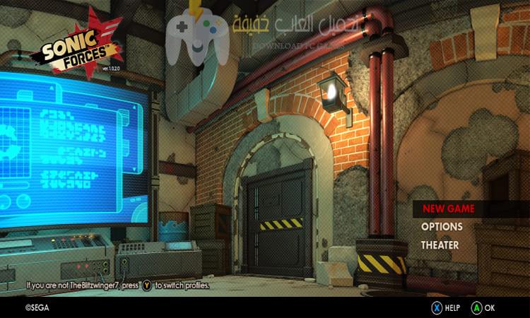 تحميل لعبة Sonic Forces للكمبيوتر مضغوطة