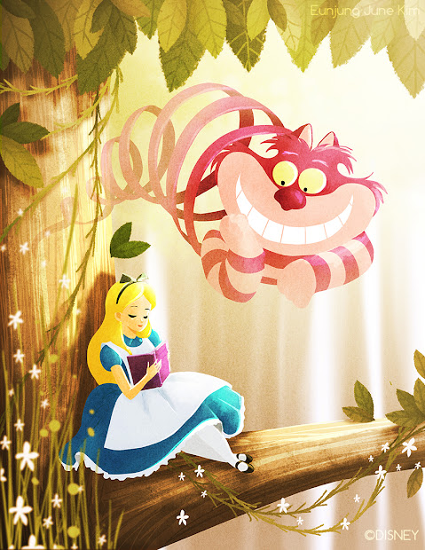 Disney Alice in Wonderland Art