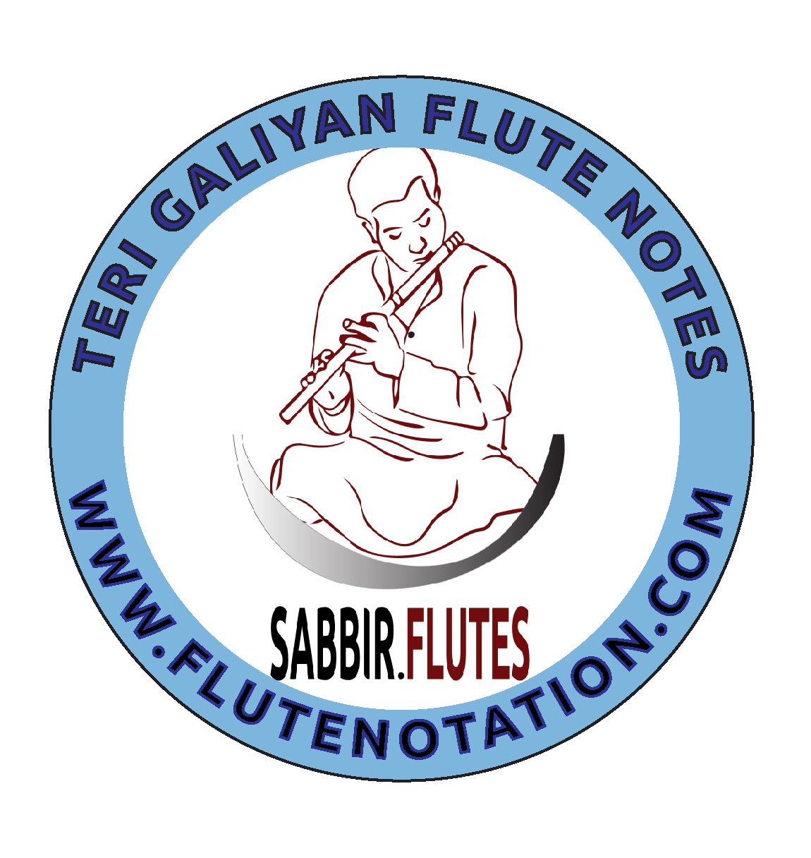 Teri Galiyan Flute notes - Flute Notation | Sargam