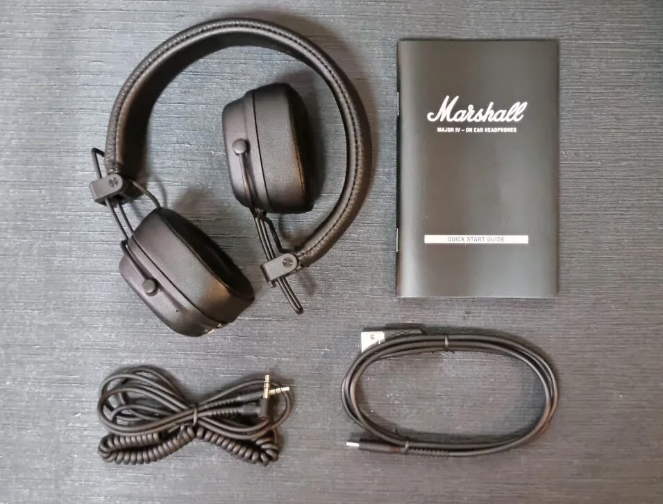 Marshall Major IV Retail Package