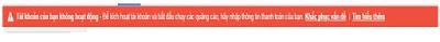 Cách Giải Quyết Tài Khoản Google Adwords Không Hoạt Động.