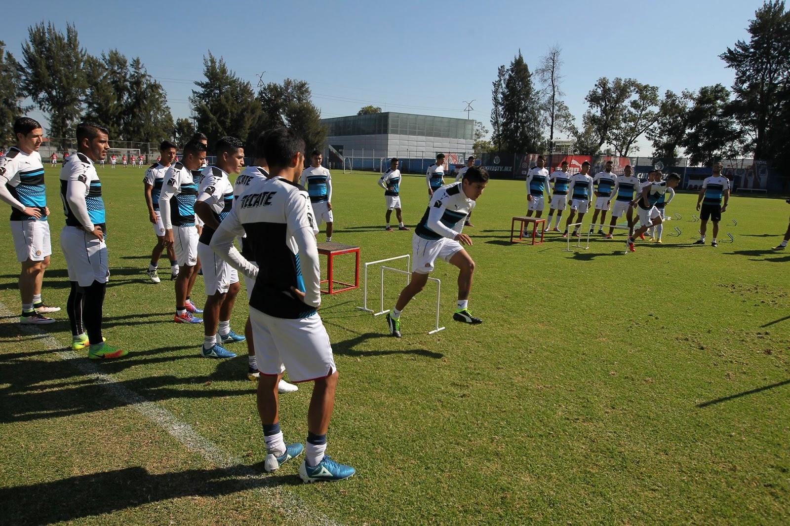 Chivas se prepara para la final ante Gallos en Copa MX.