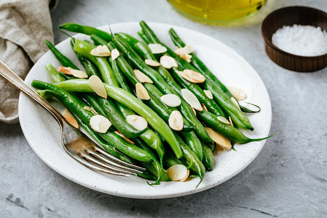 AMERICAN:  Green Bean Casserole - over 600 Green Bean Recipes from Food Network. - forget that awful 65 year old green bean casserole that only 29% of people like!!