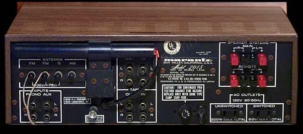 Hook up fm antenna vintage receiver