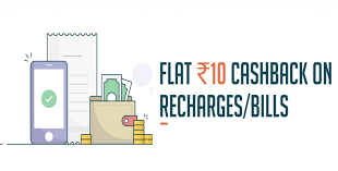 Freecharge Offer  - Get Rs 10 Cashback on Rs 10 Recharge