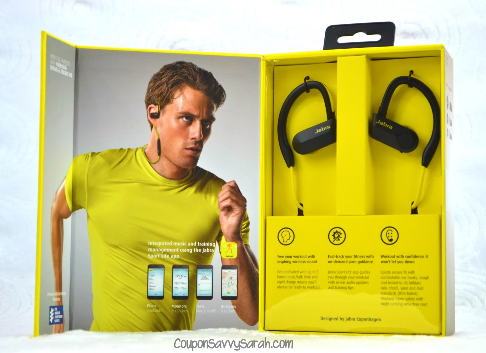 Coupon Savvy Sarah Get Your Fitness On With Jabra Sport Pace Wireless Earbuds Blue The Bluetooth Were Designed To You Motivated Before During And After Workout Rich Clear Sound
