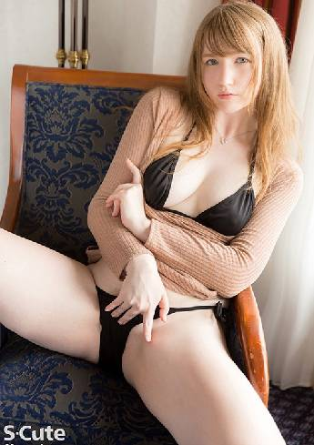 A Beautiful Blonde Woman Looking Back: I'm Sorry I Am A Monster Of Sexual Desire June Lovejoy SQTE-338