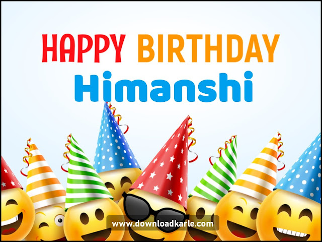 Happy Birthday Himanshi Emoji