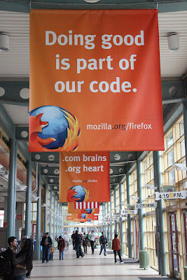 Mozilla Firefox - Doing Good is a part of our Code. Mozilla slams CISPA, joining Anonymous against Censorship