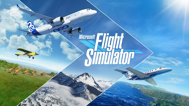 لعبة Microsoft Flight Simulator