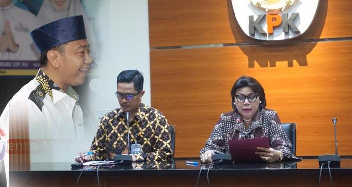 Amankan Rp600 Juta, KPK Tetapkan Agung Ilmu Mangkunegara Sebagai Tersangka Suap