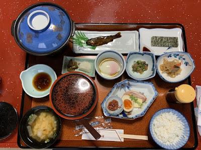 有田屋旅館の朝食