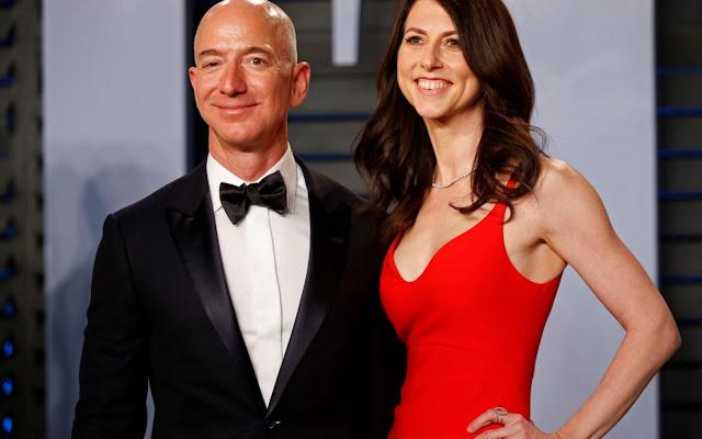 Vụ Ly Hôn lớn nhất hành tinh Jeff Bezos ông chủ Tập Đoàn Amazon sẽ trả $38 tỷ USD cho vợ MacKenzie