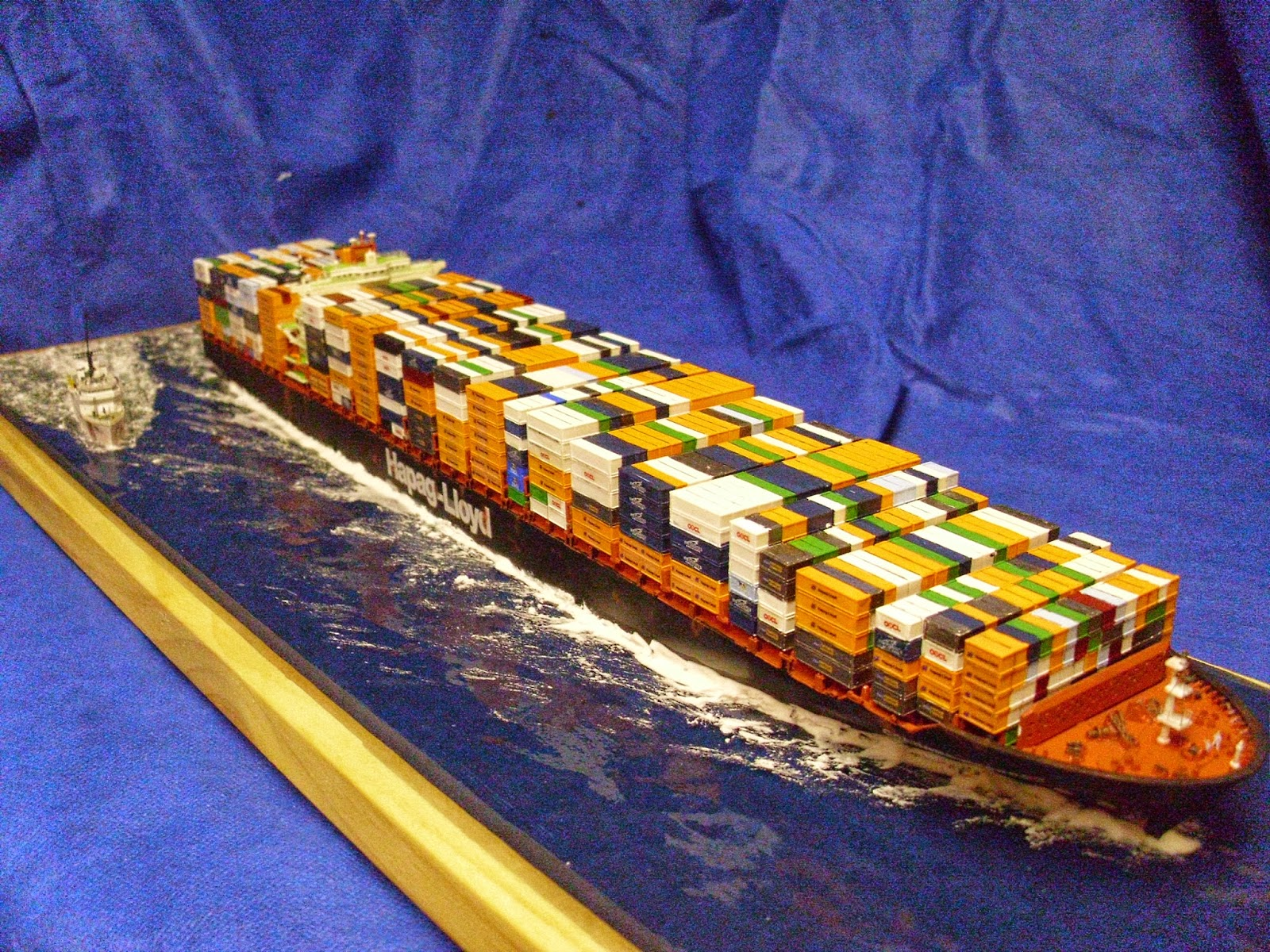Colombo Scale Containership And Uscg 270 39 Cutter Final Pics Finescale
