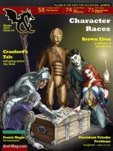And Magazine Issue 13, a free resource for AD&D and OSR RPGs