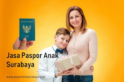 Jasa Paspor Anak Surabaya