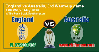 Aus vs Eng CWC Match Prediction Today Who Win World Cup 2019