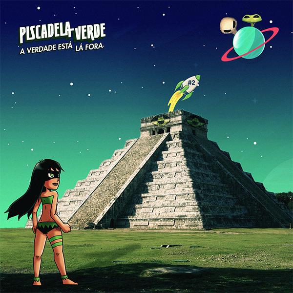 """Piscadela Verde stream new album """"A Verdade Está Lá Fora"""""""