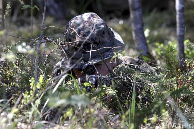 Украинские военные уничтожили снайперскую пару российских боевиков
