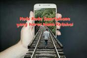 Kode kode Smartphone yang Harus Kamu Ketahui