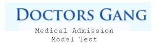 MEDICAL admission marks distribution 2021-22