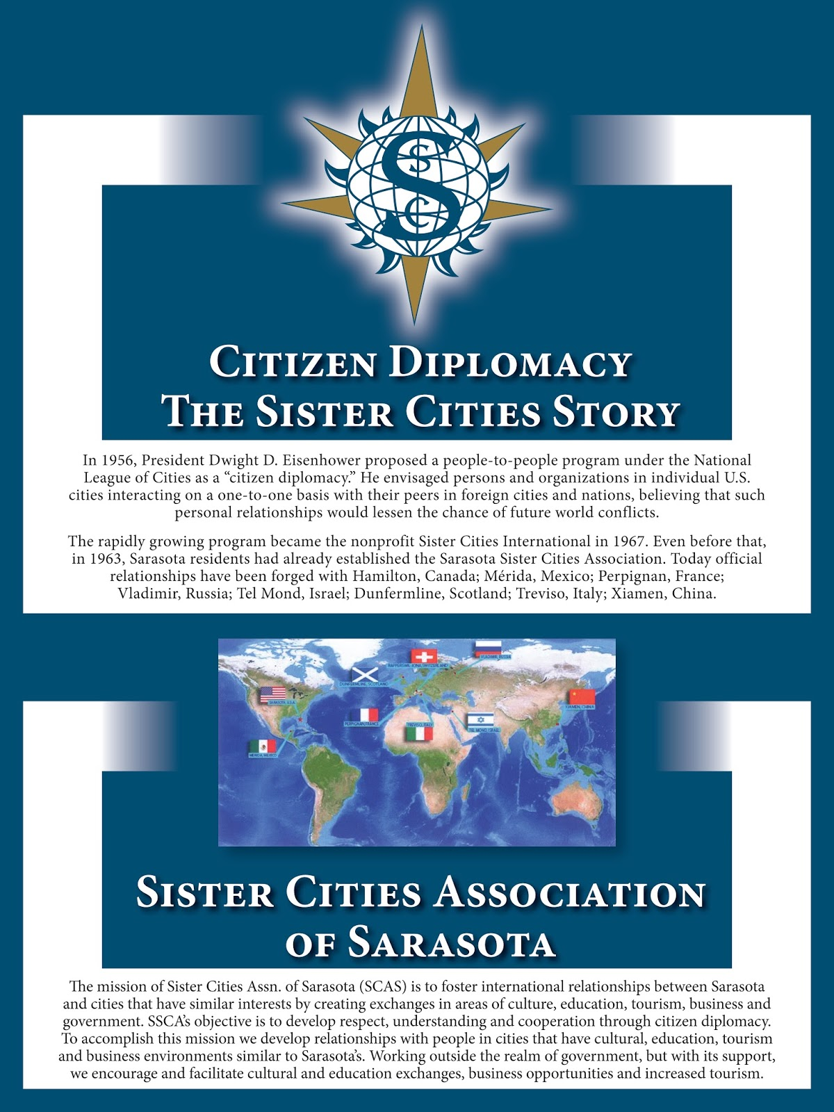 Citizen Diplomacy - Click Twice To Enlarge