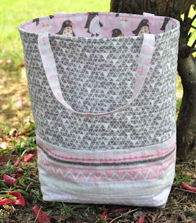 DIY Quilted Tote Bag