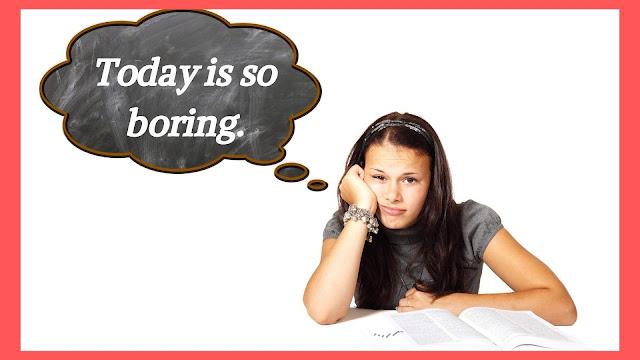 Boring Status, Captions, and Quotes
