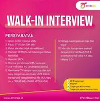 Walk In Interview di Anter Aja Surabaya Terbaru November 2019