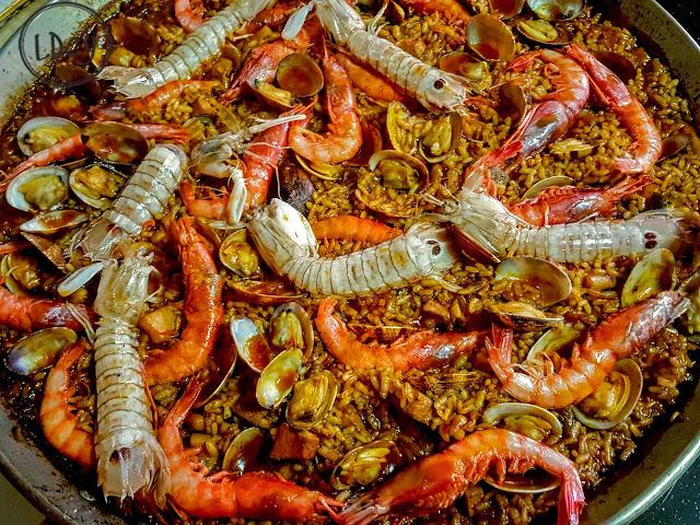 Arroz De Marisco Al Eneldo/ Seafood Rice To Dill Aroma
