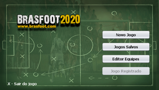 Registro do Brasfoot 2020 Funcionando