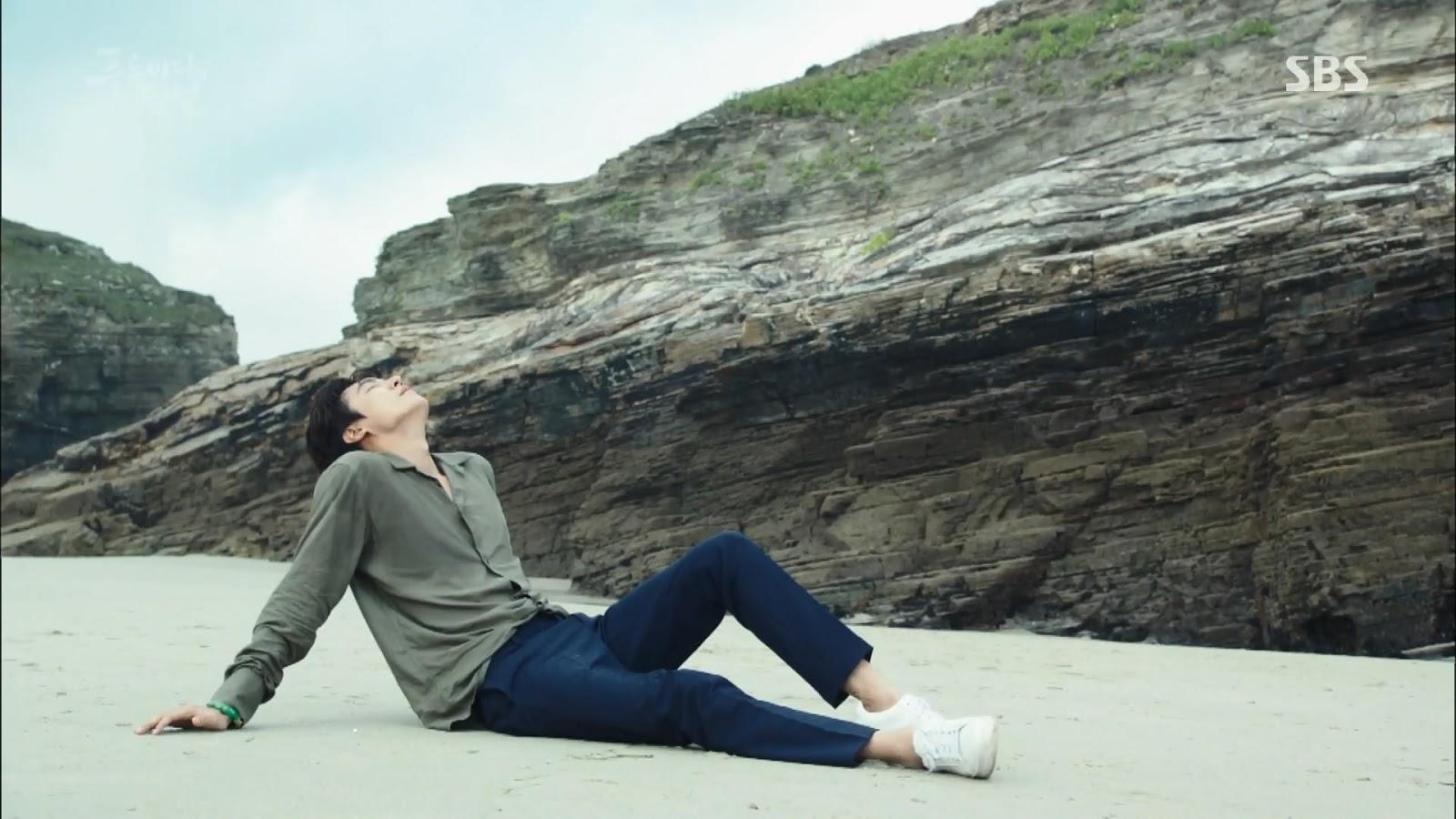 Screenshot Joon Jea Wake Up Scene The Legend Of The Blu Sea (2016)  1080p Episode 03 - www.uchiha-uzuma.com