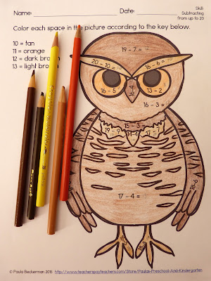 https://www.teacherspayteachers.com/Product/Owl-Math-2086545